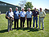 1X Sqdn groundcrew at this years reunion, (L to R) Bob Hine, Pat Hinnigan, Dave Upton, Tony Smith, Mick Barnshaw & Geoff Ochs. We all served from sometime between 1974 to 1982 (Disbandment) at Waddington. [Geoff Ochs]