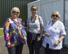 (L-R) Gail Finlay, Glynis Finlay and Betty Finlay. [Chris Wren]